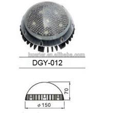 Aluminium rgb LED Point endoscopie source lumineuse pour jardin 9w 150mm