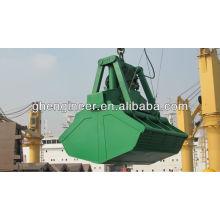Гидравлический грейферный грейферный кран