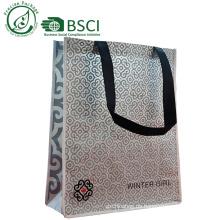 Kundengebundene Bambuseinkaufstasche für Lebensmittelgeschäft