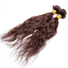 """make in china 18"""" color 2# double layer weft natural human hair extentions"""