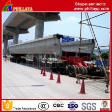 Remolque modular de 4 + 6 (5 + 5) Remolque de transporte / viga de la viga de 250 toneladas