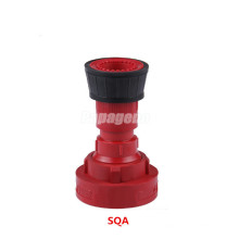 Boquilla de equipamiento de lucha contra incendios de agua