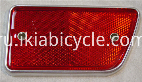 red bike reflector