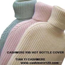 Cachemire Rib Hot Bottle Cover