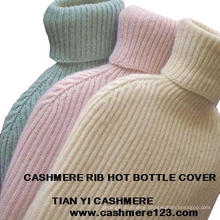 Cashmere Rib Hot Bottle Cover