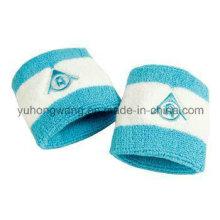 Algodón personalizado Terry Sports Wristband / Headband