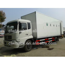 Hot Sale Dongfeng 8-10Tons freezers for trucks,meat freezer for sale in Azerbaijan