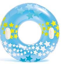New Design Printing Star Swim Ring With Handle