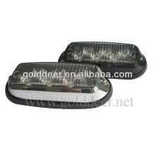 Barra LED luces en tablero Auto Led de luz estroboscópica (SL621 de cromo)
