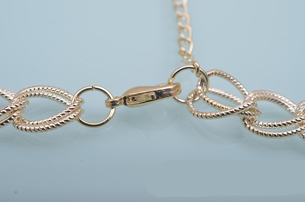Gold Vintage Chain Necklace