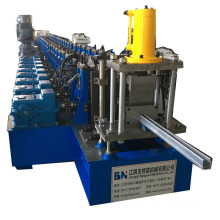 shelving roll forming machine with adjustable width