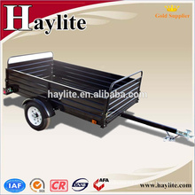 powder coated tractor tipping farm trailer