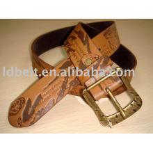 Cinturão de couro para jeans para mulheres da moda PU Belt