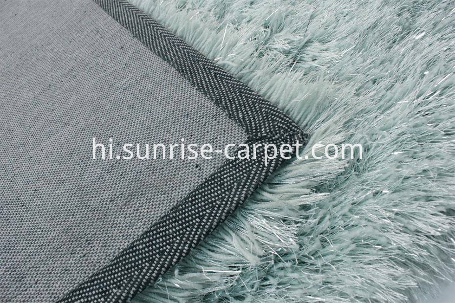 Polyester Silk & Elastic Carpet