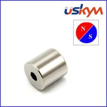 Aimants en néodyme à anneau Nickel à forte force (R-009)