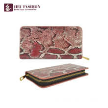 HEC Manufacturer Custom Personalized Wallet Women PU Leather Purse