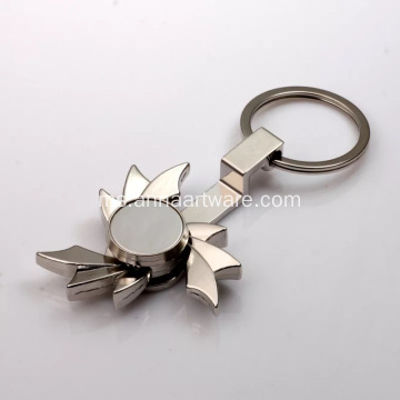 Metal Spinners Handle Metal dengan KeyChain