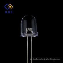 Brillo de alta calidad del agua 10m m led redondo IR 940nm claro