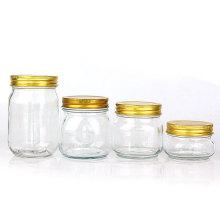 150ml 250ml 300ml 380ml 500ml 750ml 1500ml 2000ml Glass Mason Jars with metal lid