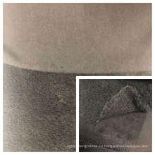 Вельветовый флис Shu на переплетении с трикотажной тканью T / C