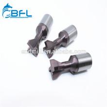 BFL CNC herramienta de corte especial carburo de tungsteno Dovetail fresas