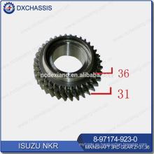 Genuino NHR / NKR Mainshaft 3RD Gear Z = 31: 36 8-97174-923-0