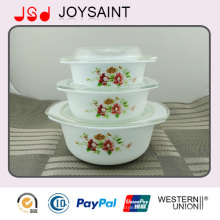 Wholesale Opal Glass Tureen Set with Microwave Safe