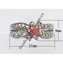 2015 Gets.com Таиланд стерлингового серебра моды длинные кольца палец