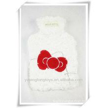 kitty plush winter hot water bag
