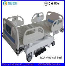 Alta calidad de lujo médico eléctrico de enfermería multifunción Precio de la cama de hospital