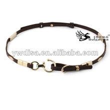 2013 rivets à la mode ceinture style vintage cuir skinny authentique pavé de rivets