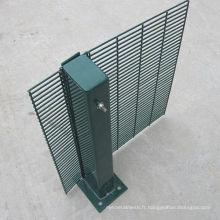 Clôture de treillis soudé de haute sécurité