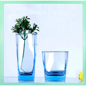 2016 Hot-Sale Lead Free Colorful Clear Glass Water Cup Wholesale
