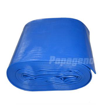 "Good Quality 12"" PVC Layflat Discharge Hose"