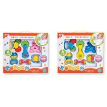 Eco-Friendly Plastic 6PCS Baby Handbell Sonajero para bebés (10220309)