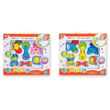 ЭКО-дружественных Пластиковые 6шт колокольчик ребенка погремушку (10220309)