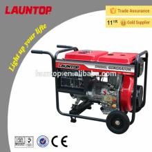 Электрогенератор мощностью 5.5 кВт с четырехтактным двигателем с воздушным охлаждением от Launtop