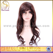 Paypal 24 Inch Two Tone Unprocessed Virgin Hair Glueless Peruvian Full Lace Wig