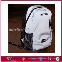 Novo design todo reflexivo esporte laptop mochila de viagem reflexivo ombro mochila