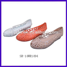 SR-14WR1494 2014 jalea de plástico zapatos de jalea melissa mujeres zapatos de jalea venta al por mayor
