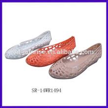 SR-14WR1494 2014 plástico geléia sapatos mulheres melissa geléia sapatos sapatos geléia por atacado
