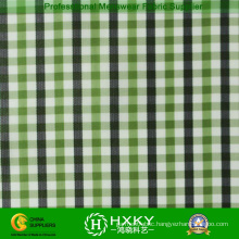 230t Plaid Polyester Yarn Dyed Fabric