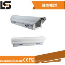 A liga de alumínio morre o fornecedor pequeno da caixa da câmera do CCTV da carcaça
