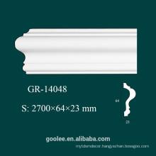 Environmental Architectural Decorative PU White Panel Molding