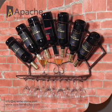 Specializing in the production of wine bottle display rack
