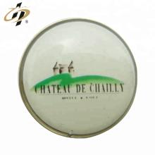 Épinglette de bouton d'aimant d'impression en métal de timbre en fer personnalisé