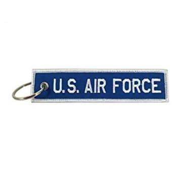 US Army Twill Embroidered Key Chain
