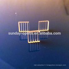 Lentille de ligne laser, verre k9, dia8mmx2.5mm, 30 degrés