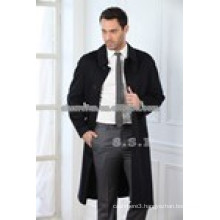 China factory wholesale 100% pure cashmere winter coats for men