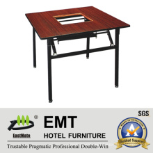 Simple Design Dining Table Special for Chaffy Dish (EMT-FT621)